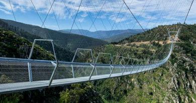 Descubre el puente peatonal suspendido más largo del mundo